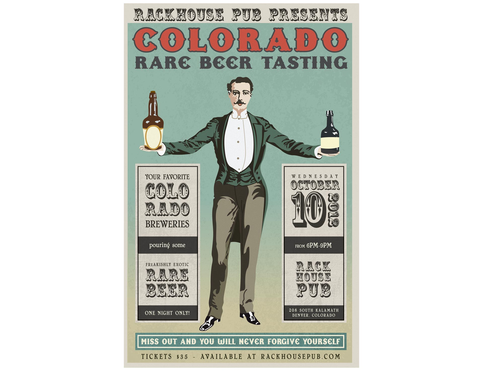 Colorado Rare Beer Tasting 2012