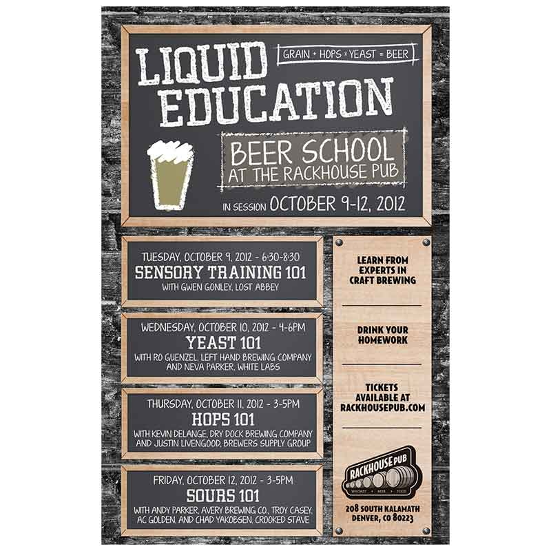Liquid Education Beer School 2012