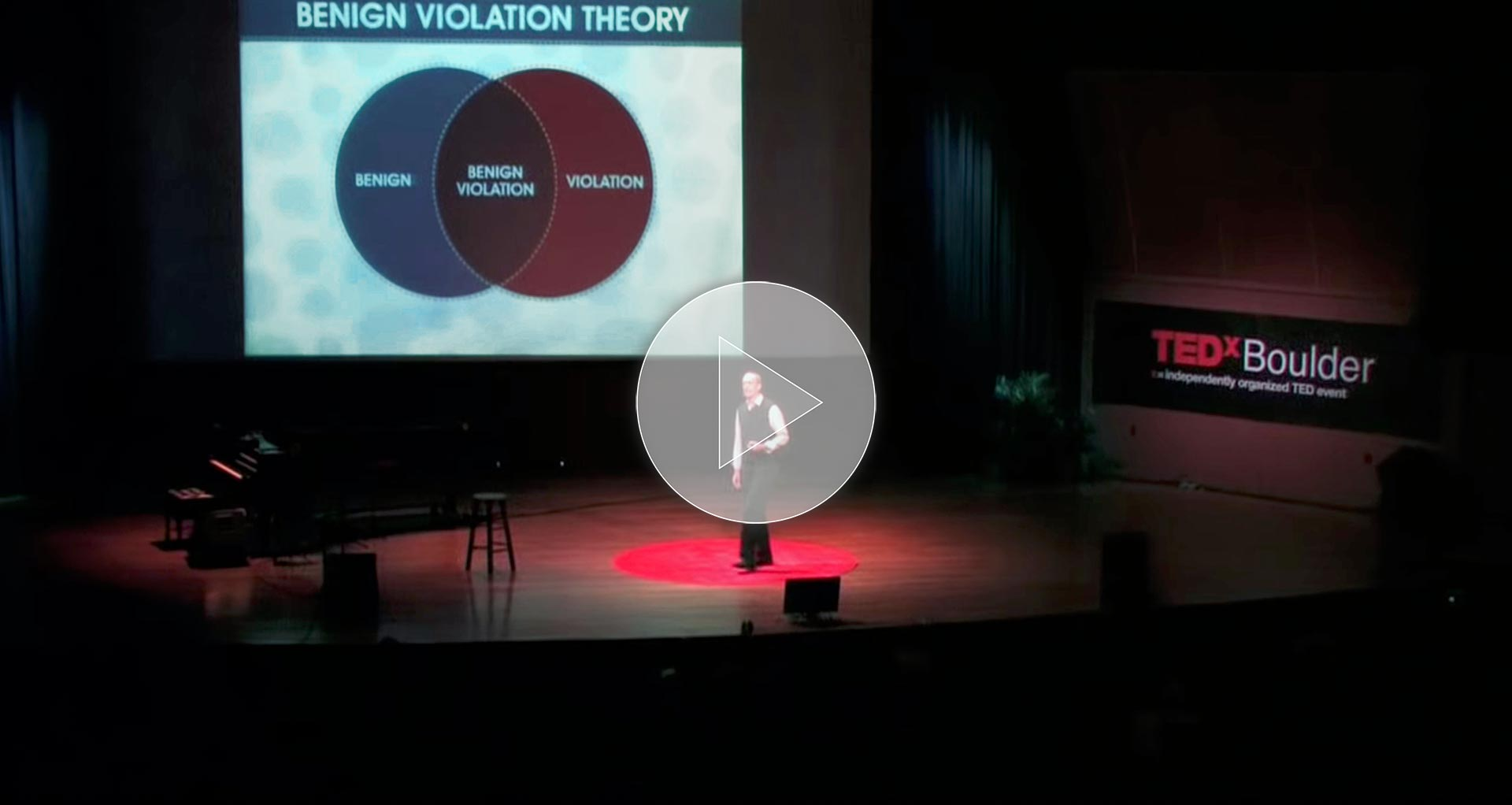 Peter McGraw — What Makes Things Funny? TEDxBoulder 2010