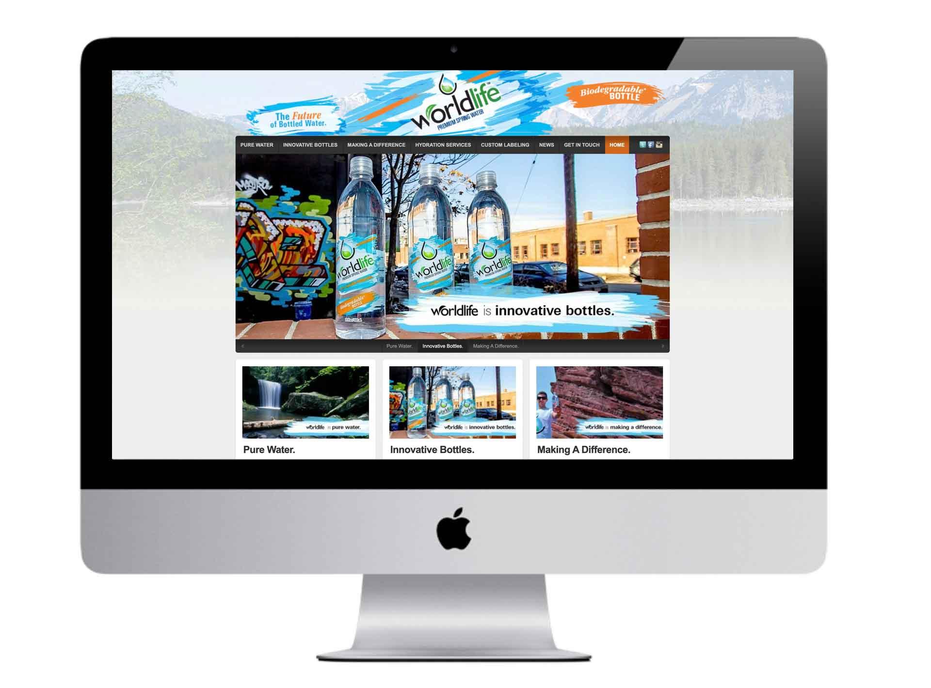 WorldLife Water Website