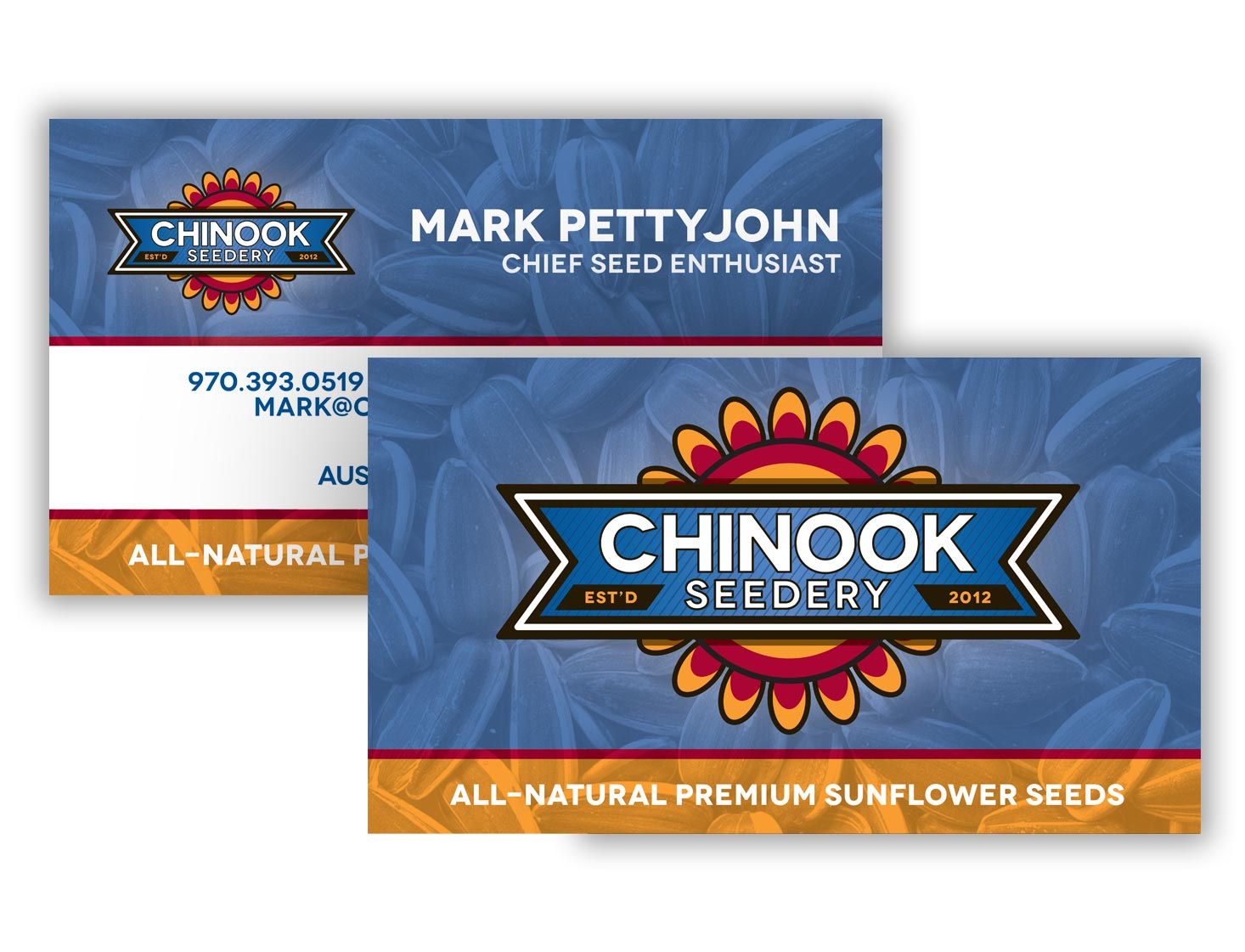 Business Cards — Chinook Seedery