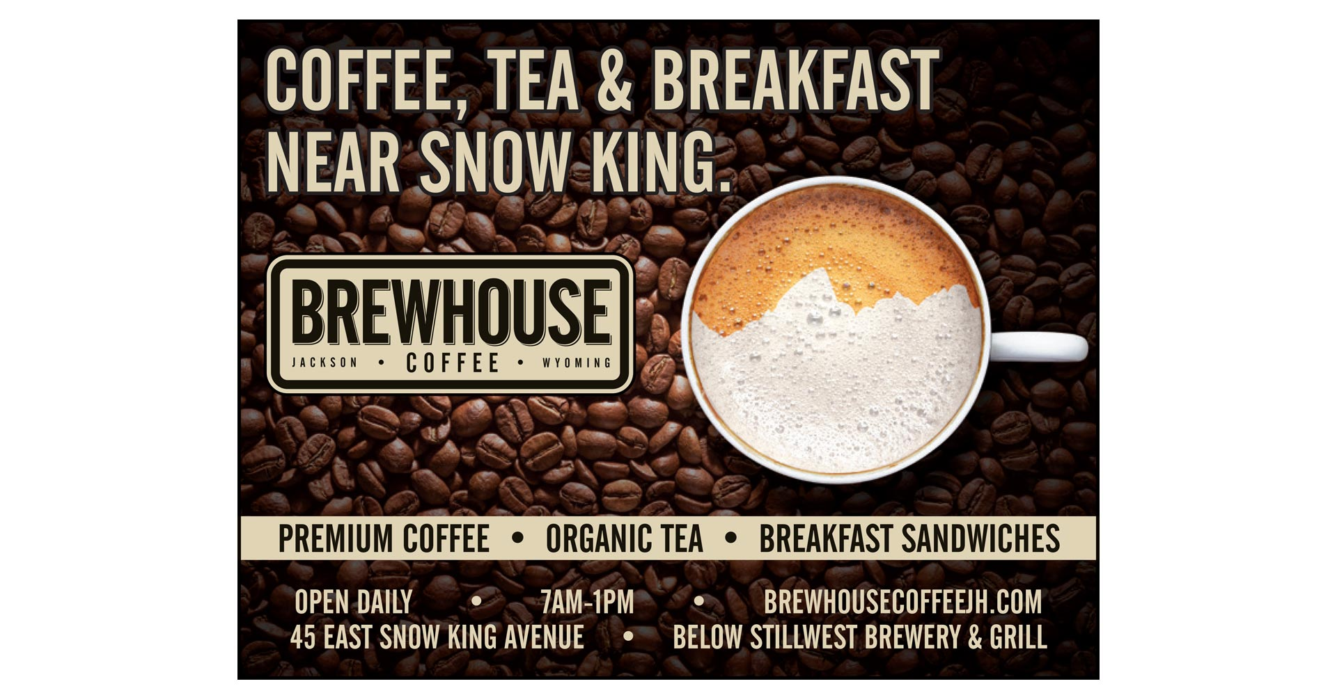 Brewhouse Coffee Advertising