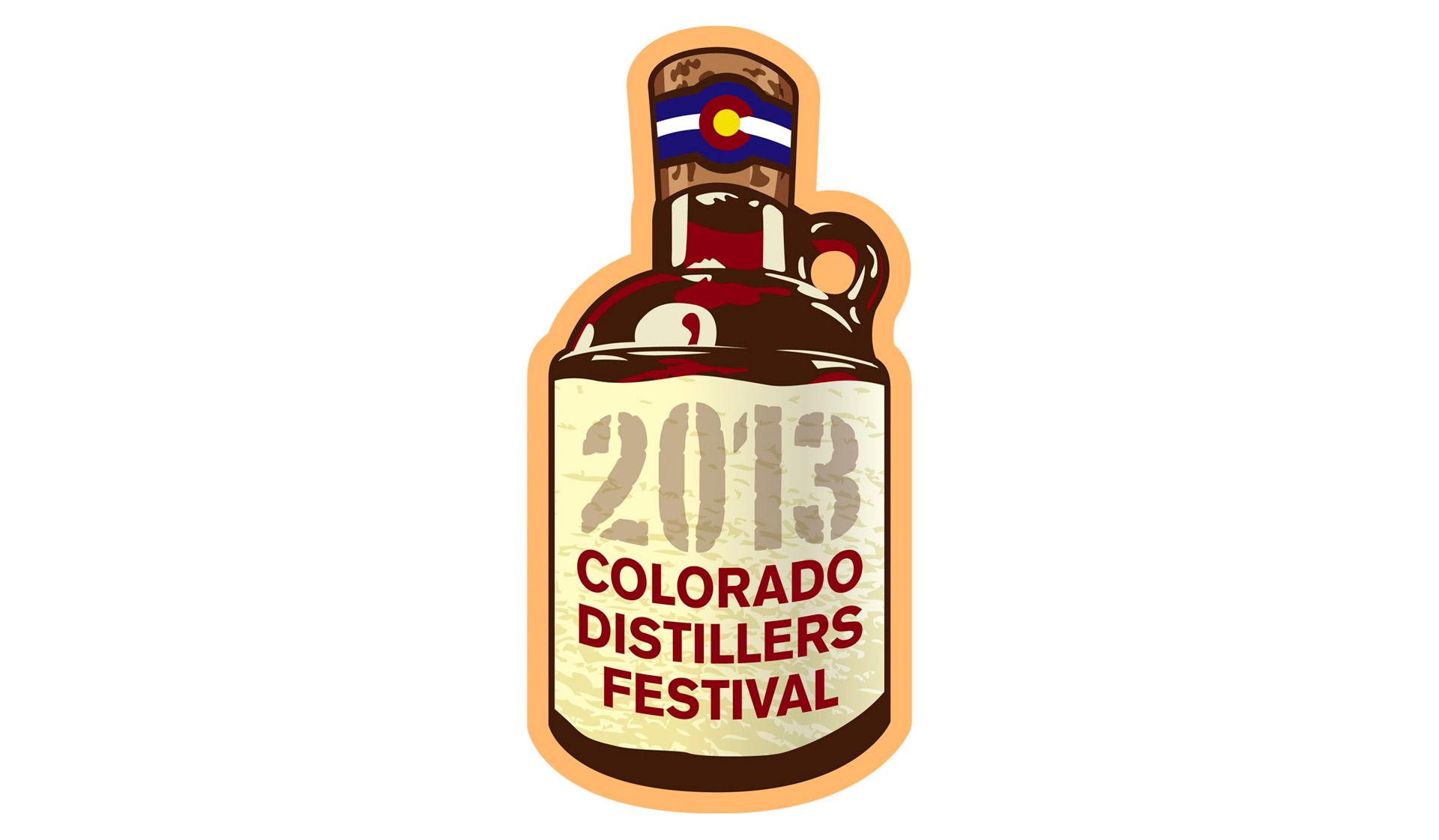 Colorado Distillers Festival Branding