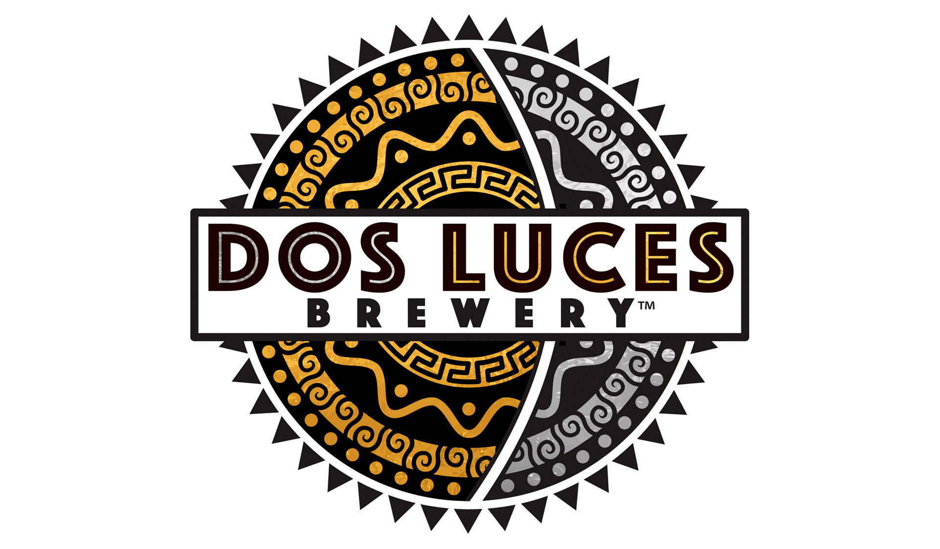 Dos Luces Brewery Branding