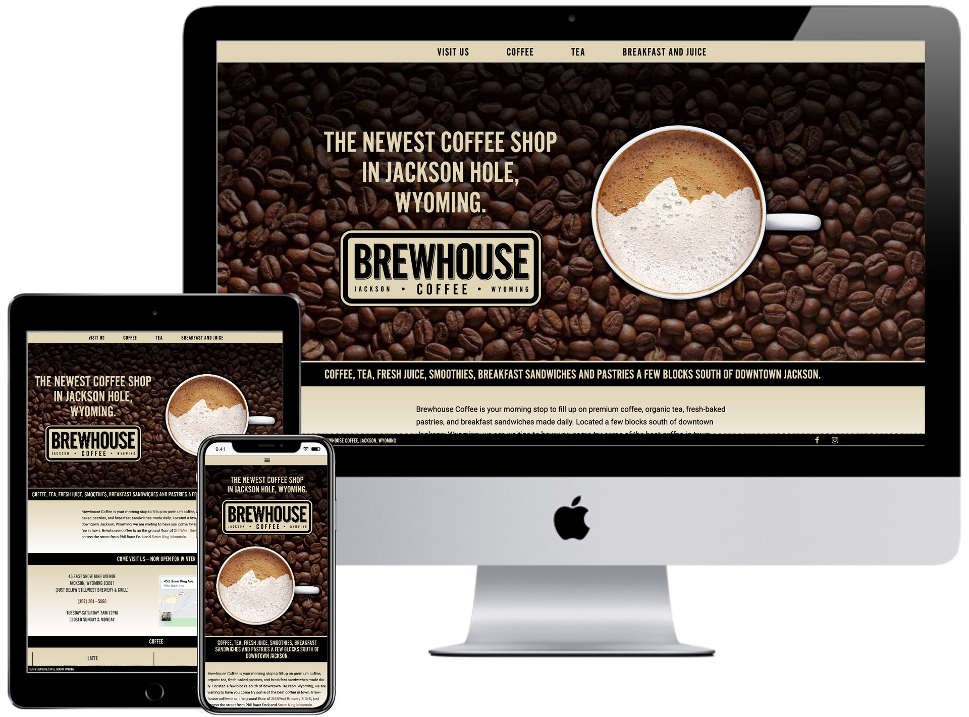 Brewhouse Coffee Website