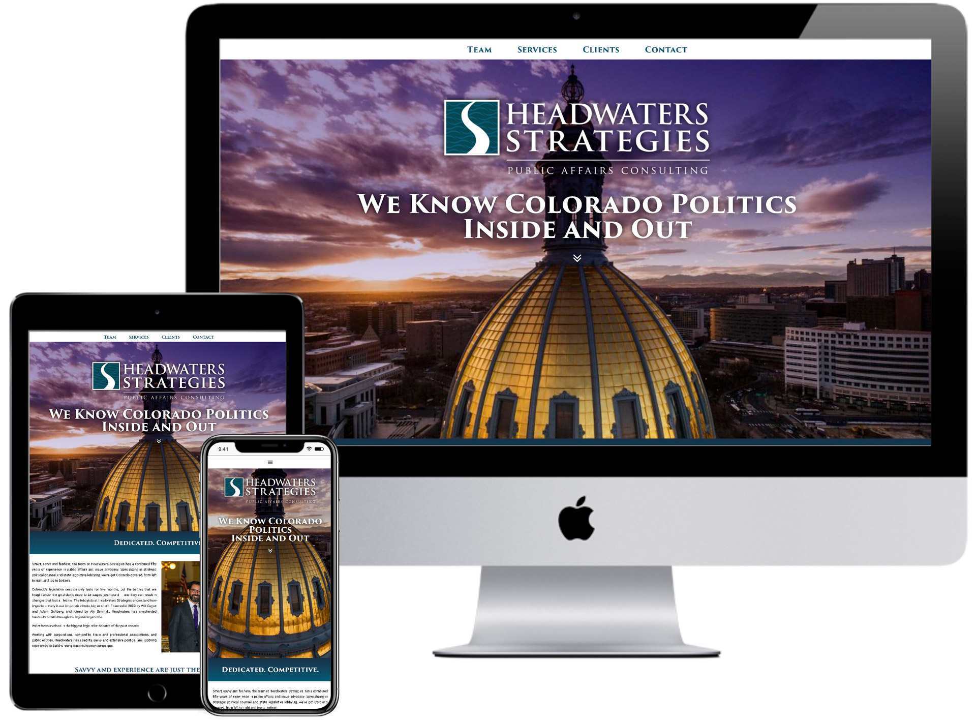 Headwaters Strategies Website