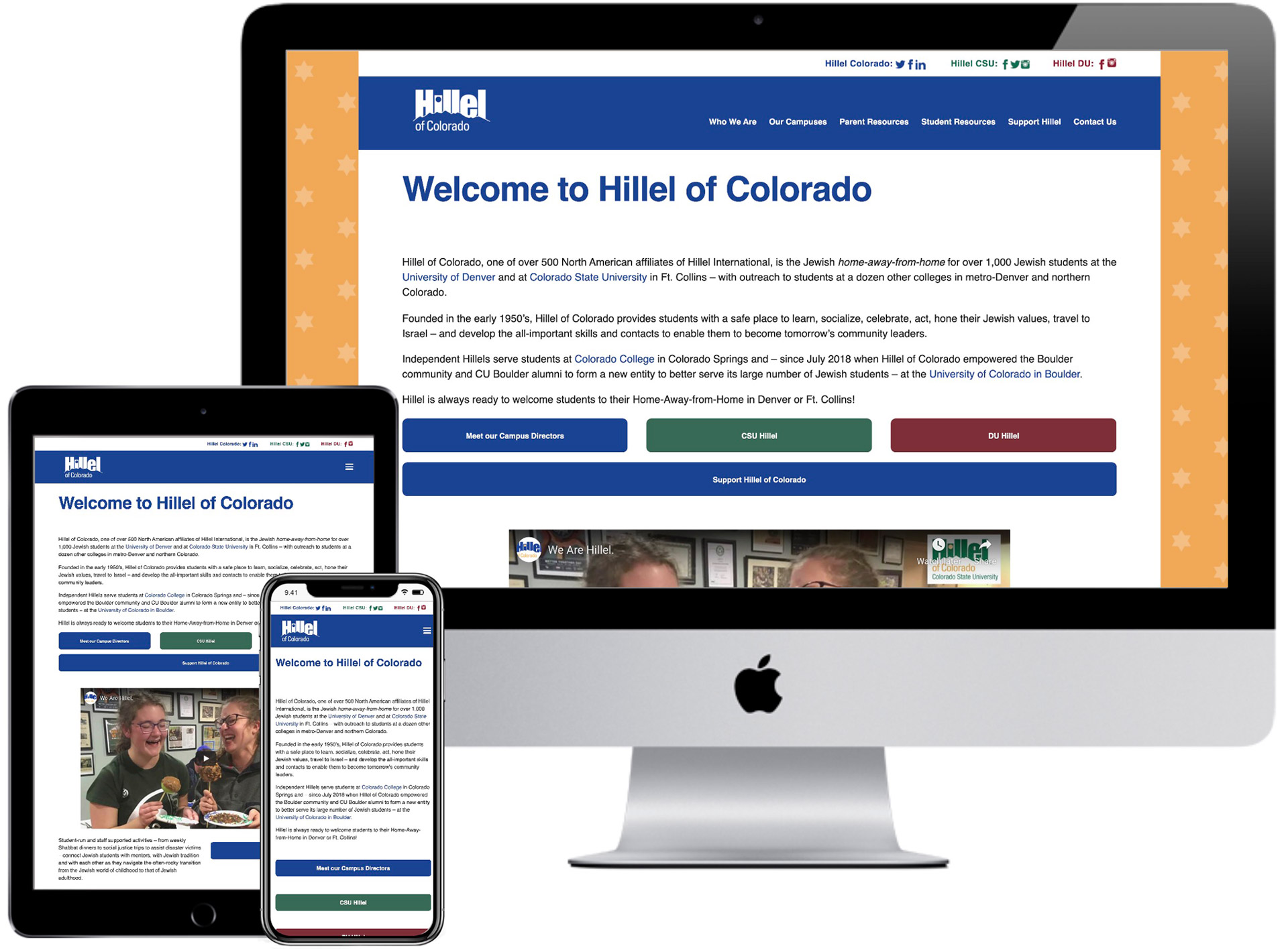Hillel of Colorado Website