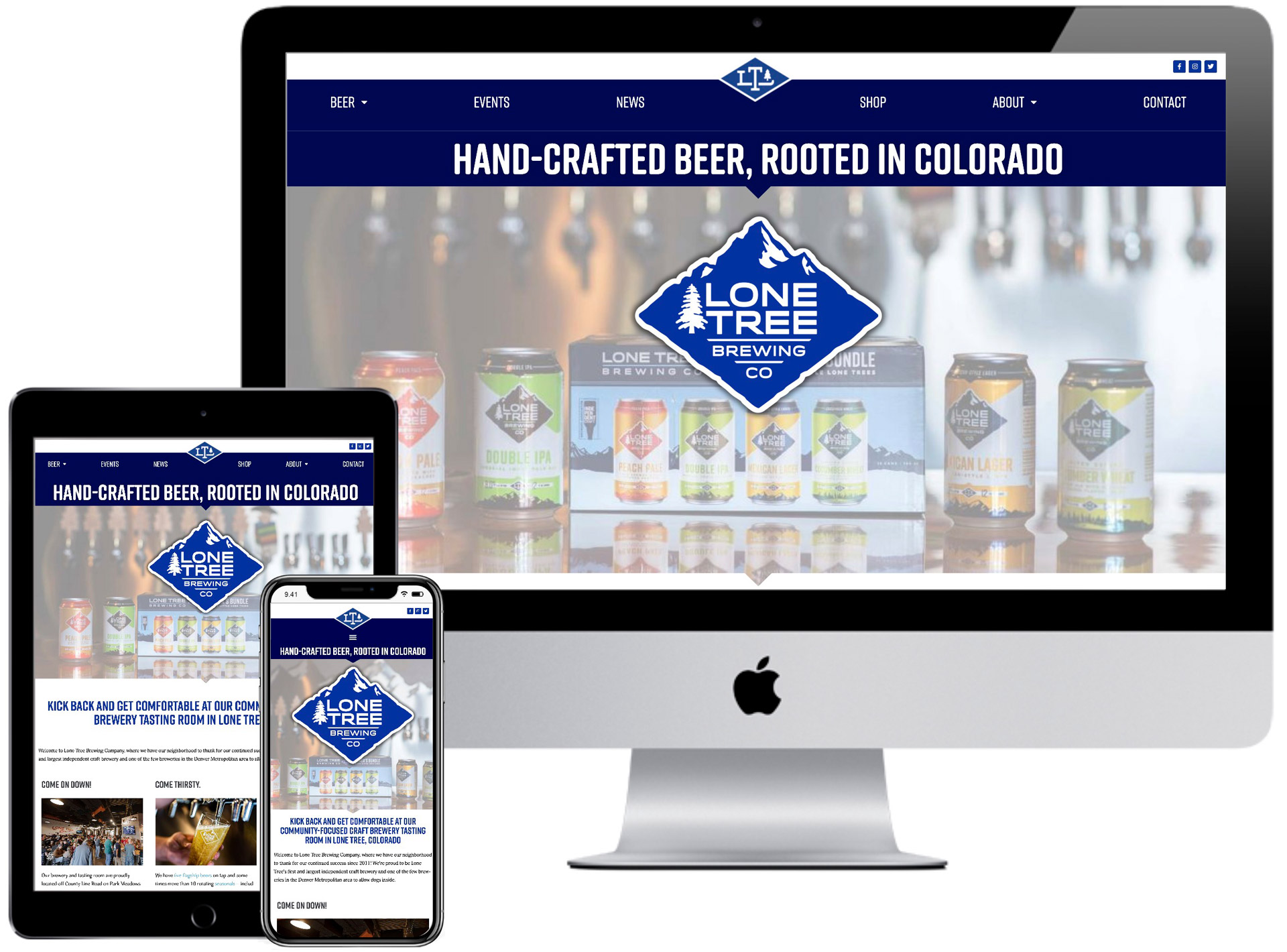 Lone Tree Brewing Company Website
