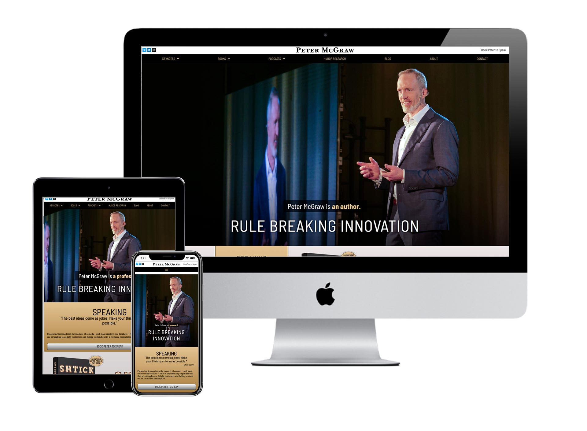 Peter McGraw Website