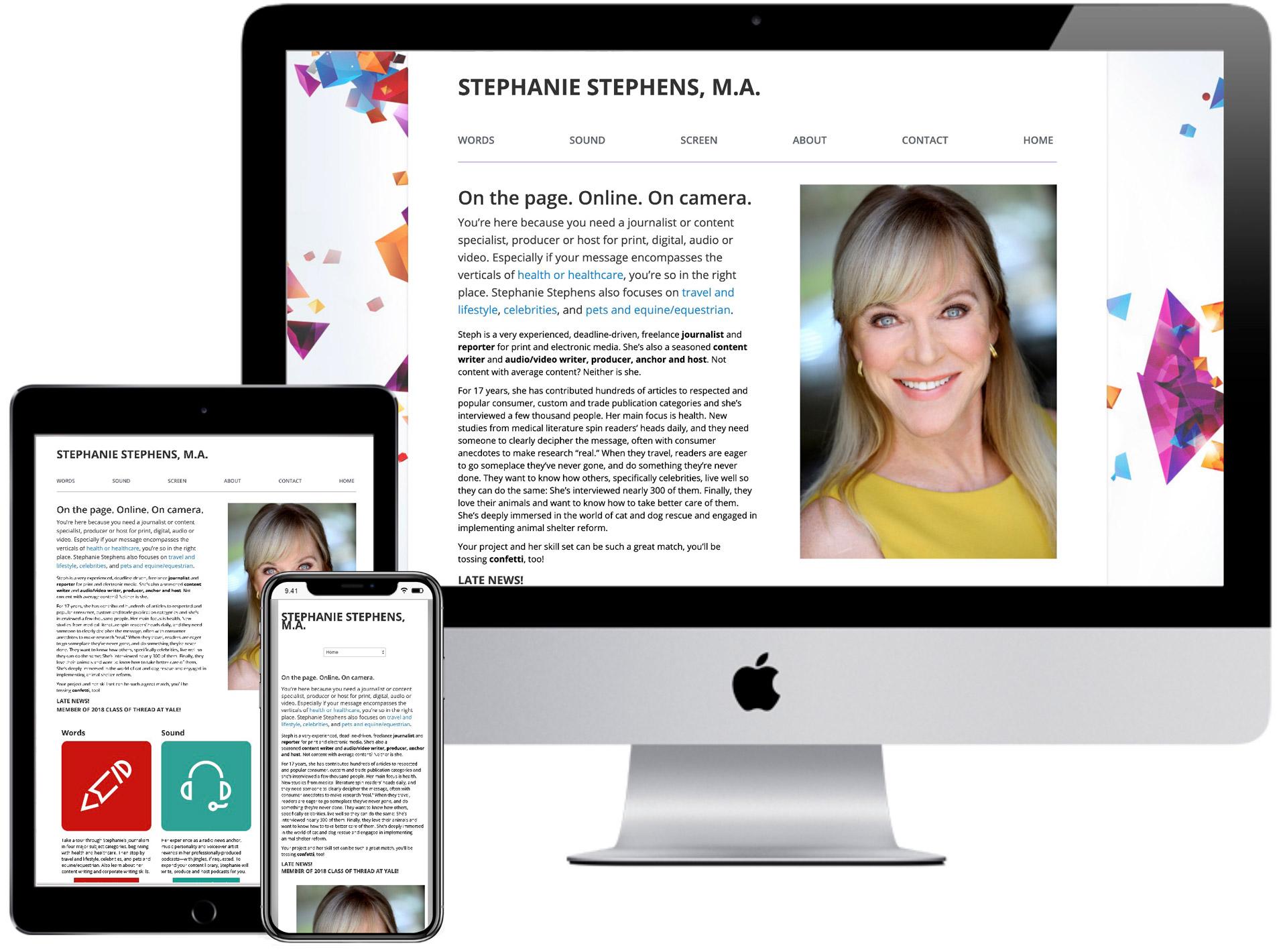 Stephanie Stephens Website