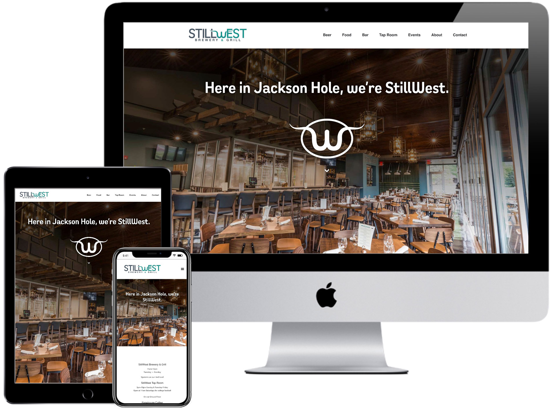 "StillWest Brewery <span class=""amp"">&</span> Grill Website"