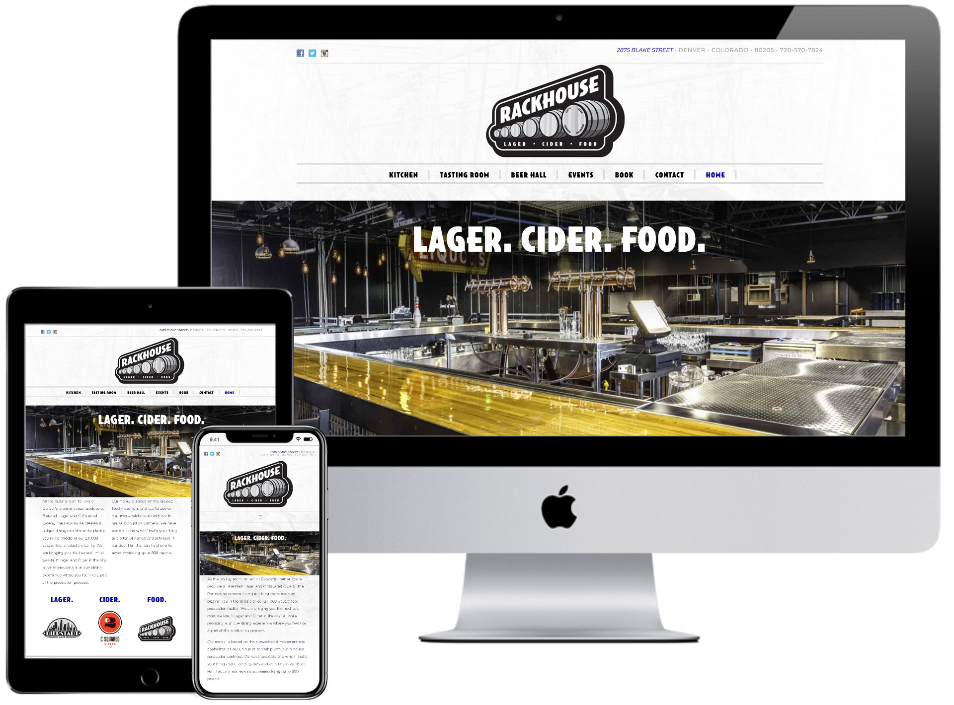 The Rackhouse Website