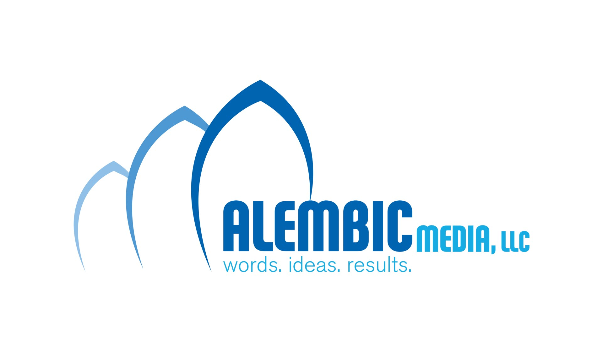 "Alembic Media, <span class=""caps"">LLC</span> Branding"