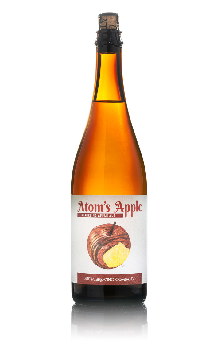 Atom's Apple Sparkling Apple Ale