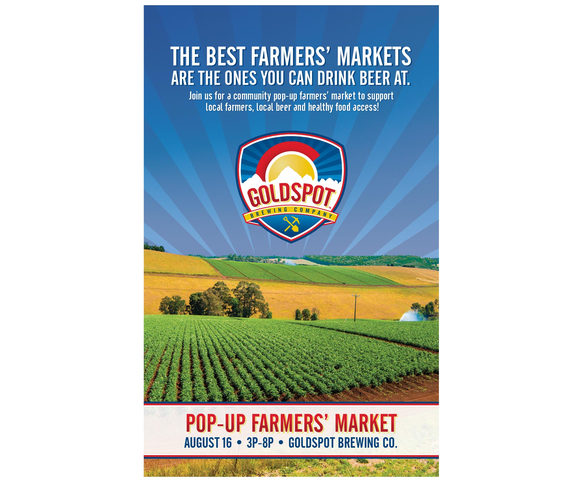Farmers' Market Poster