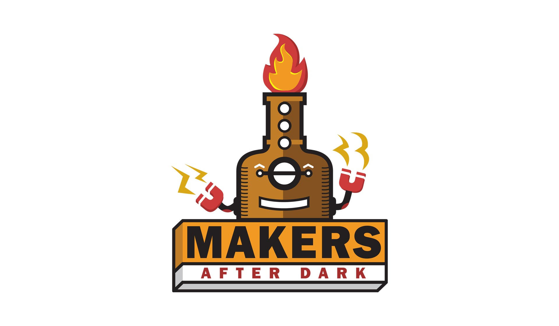 Makers After Dark Branding