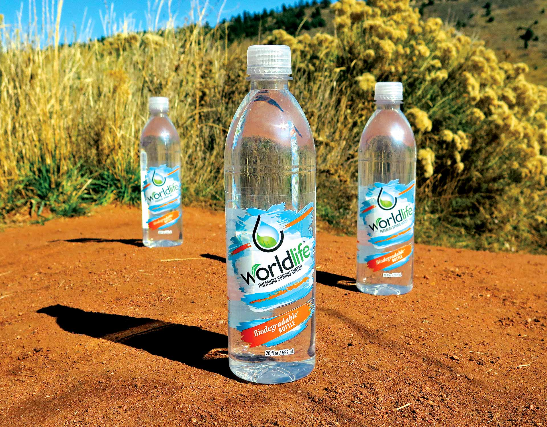 "Biodegradable <span class=""amp"">&</span> Recyclable Bottled Water Packaging"