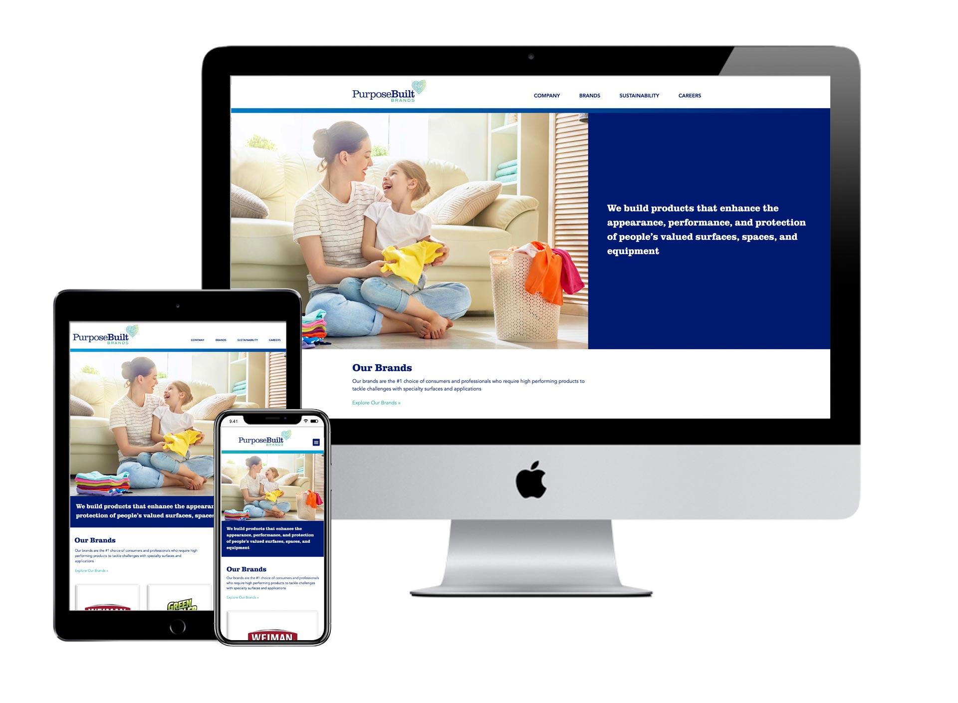 PurposeBuilt Brands Website